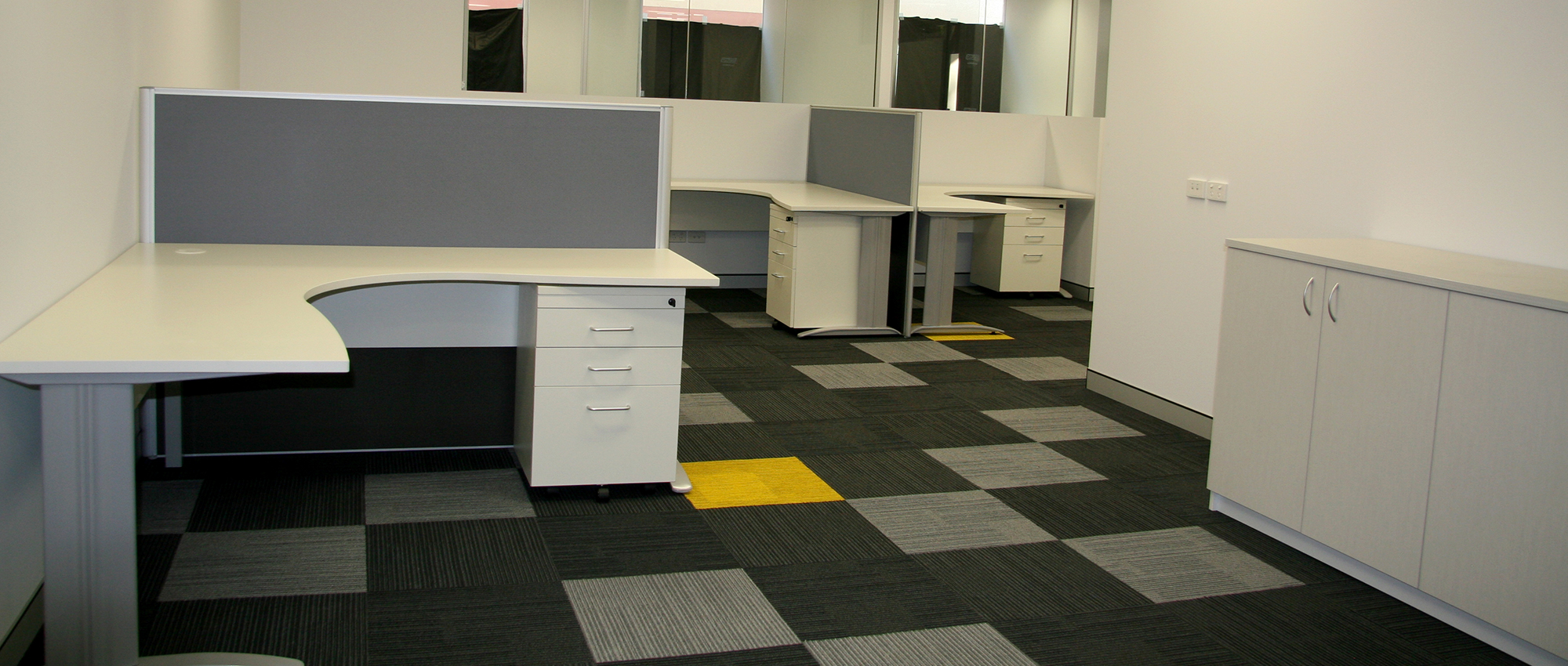 Office Plus Perth Furniture Fit Out fitout Office Design Workstation Credenza